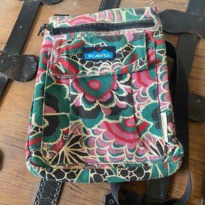 Kavu Floral Crossbody Bag
